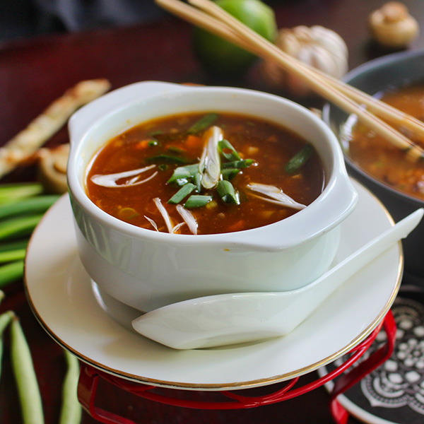 Hot & Sour Soup (Veg)