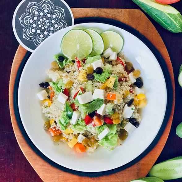 Fresh Bulgur Summer Salad