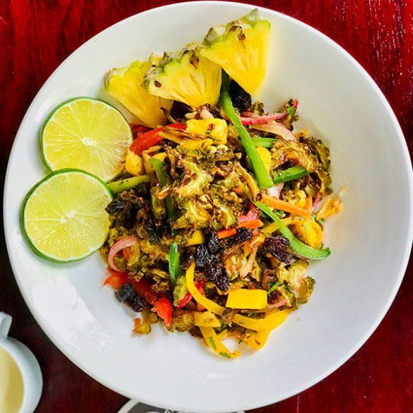 Tangy Karela Salad