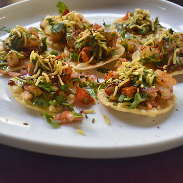 Papdi Canape Chaat