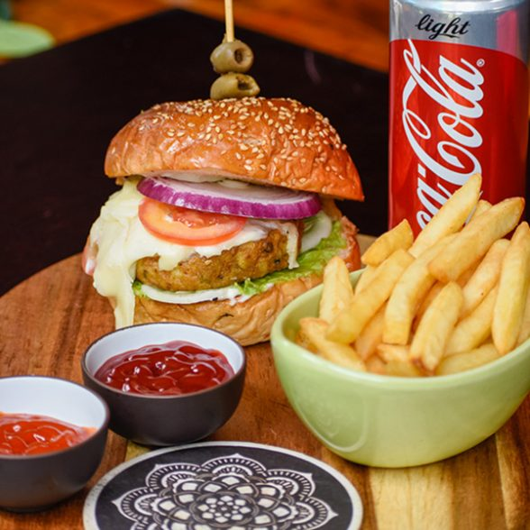 Benaras Burger (Chicken)