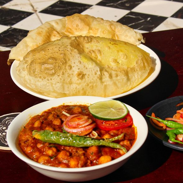 Dilli ke Chole Bhature