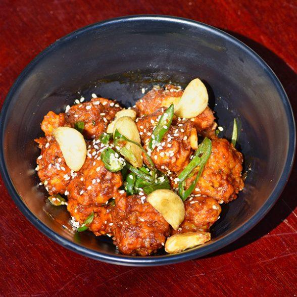 Chilli Garlic Chicken