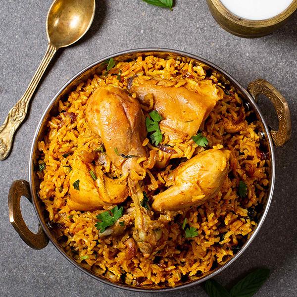 Parda Dum Biryani (Chicken)