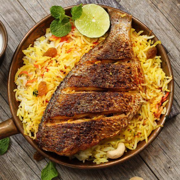 Fish Biryani