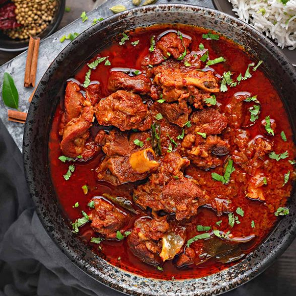 Vindaloo Curry (Lamb)