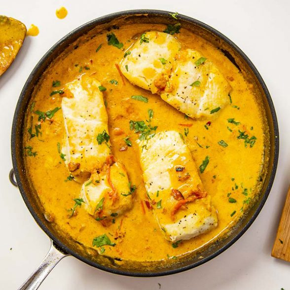 Coconut Curry (Fish)