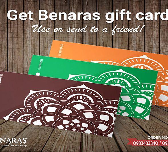 BENARAS Gift Card