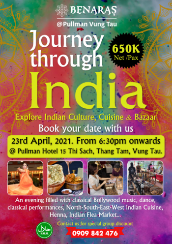 Journey Through India - FLYER 17th-APRIL