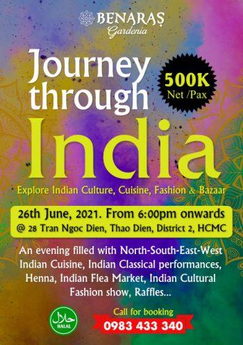 Journey Through India - FLYER