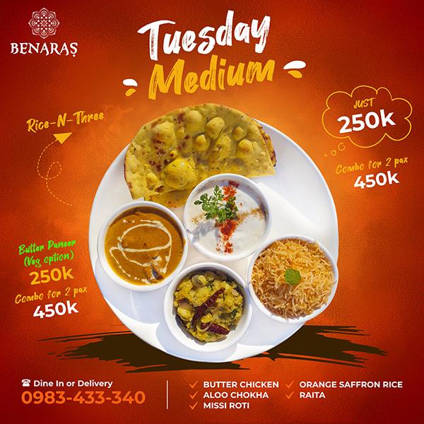 Tuesday 'Medium'