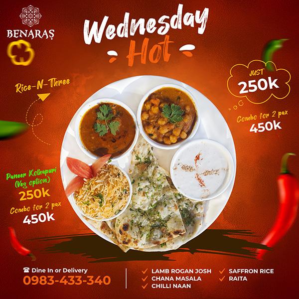Wednesday 'Hot'