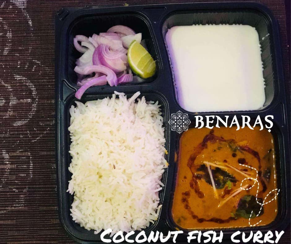 Bento Box – Coconut Fish Curry