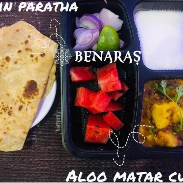 Bento Box – Aloo Mattar Curry