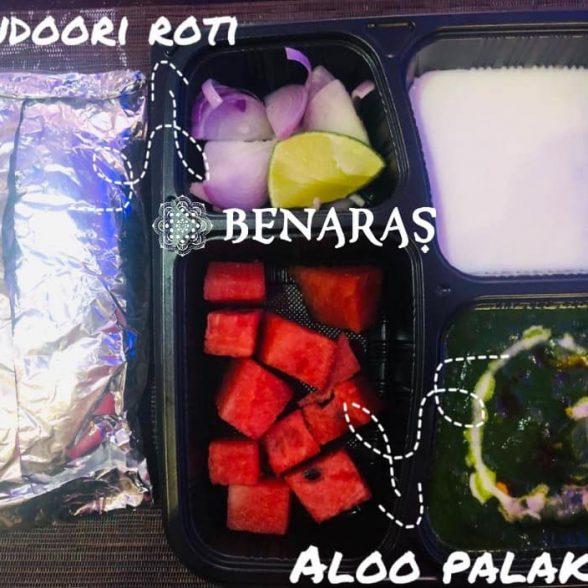 Bento Box – Aloo Palak