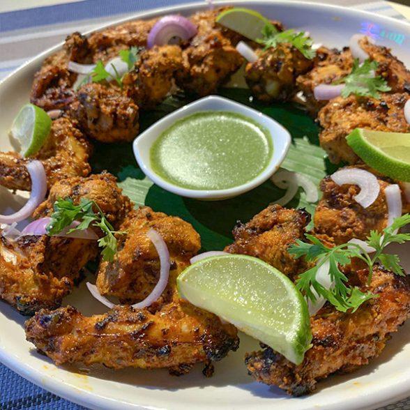 Spicy Tandoori Wings (18 Pcs)