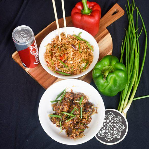 Hakka Noodles &Gobi Manchurian