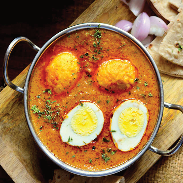 Dhaba Egg Curry