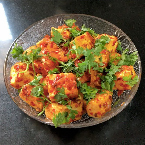 Chilli Garlic Paneer