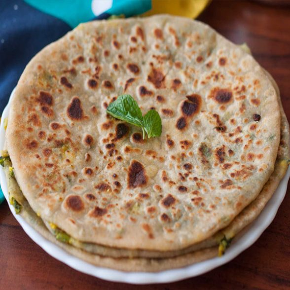 Stuffed Paratha (Aloo Onion)
