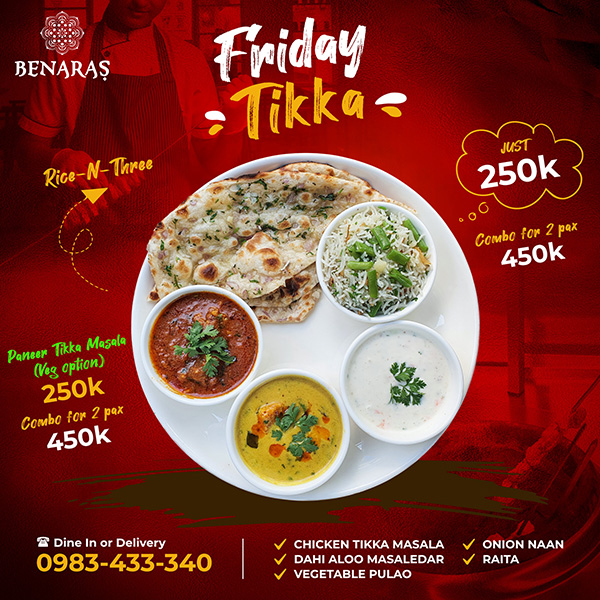Friday 'Tikka'