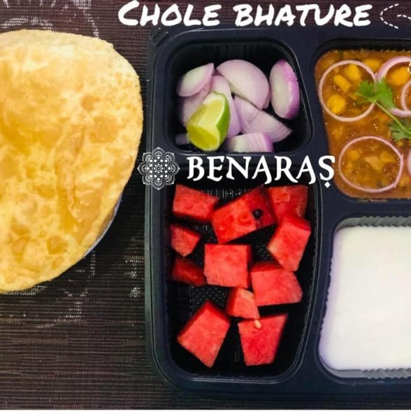 Bento Box – Chole Bhature