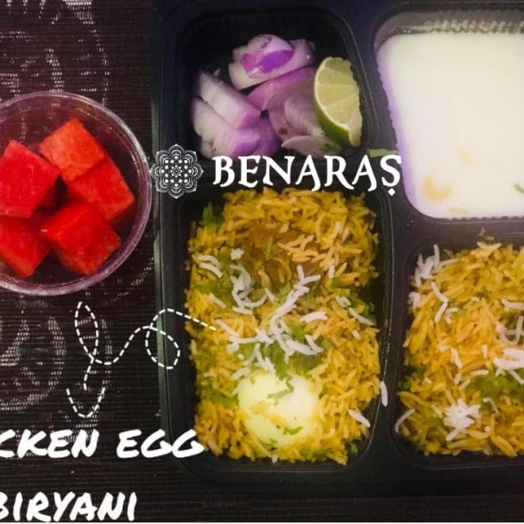 Bento Box – Egg Biryani